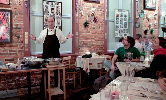 Marcela's Creole Cookery - Pioneer Square: $49 for a New Orleans Creole and Cajun Participatory Cooking Class for Two at Marcela's Creole Cookery ($110 Value)