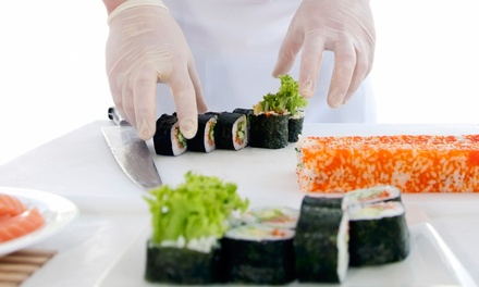 Sushi and Sake Class with Meal for One or Two, or Late Night Sushi with Rolls and Drinks for Two at Sushi Spott (Up to 55% Off)