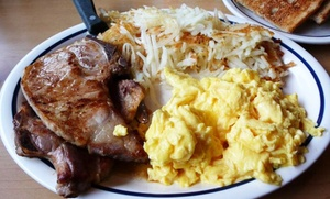 Cookhouse Restaurant: $12 for $20 Worth of Diner Food at Cookhouse Restaurant