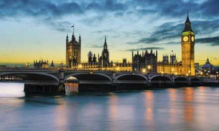 Groupon Deal: ✈ 7-Day Vacation in London and Paris with Airfare from go-today. Price per Person Based on Double Occupancy.
