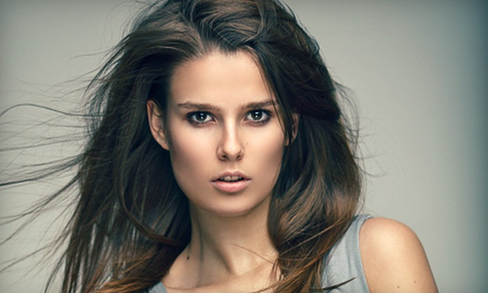 Hair By HP - Southwest Tampa: Haircut and Blow-Dry Package with Option for Partial Foil, Full Highlights, or Full Color at Hair by HP (Up to 69% Off)