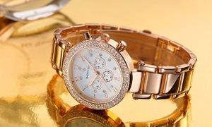 oferta: Reloj Timothy Stone modelo Désire con 130 cristales SWAROVSKI® por 29,90 € (70% de descuento) con envío gratuito