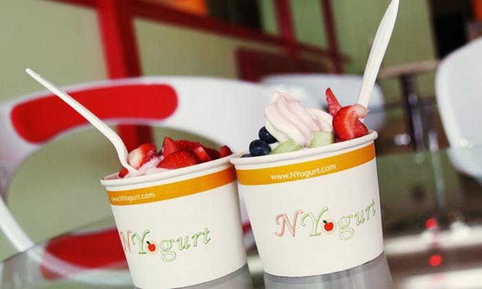 NYogurt & Ice Crream - Dongan Hills: $12 for 4 Vouchers, Each Good for $5 Towards Yogurt or Ice Cream from NYogurt & Ice Crream ($20Value)