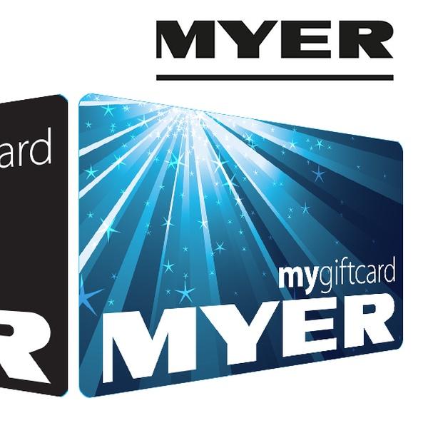 MYER eGift Card with Bonus $10 - Myer