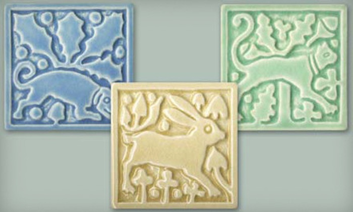 Motawi Tileworks - Jackson: $36 for a Three-Piece Animal Tile Set at Motawi Tileworks ($72 Value)