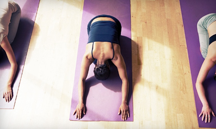 Power Life Yoga - Multiple Locations: 6 or 12 Classes at Power Life Yoga (Up to 69% Off)