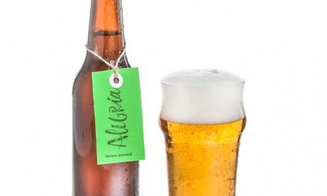 Cervezas Alegría: visita y cata ilimitada para 1, 2 o 4 personas desde 8,90 € Oferta en Groupon
