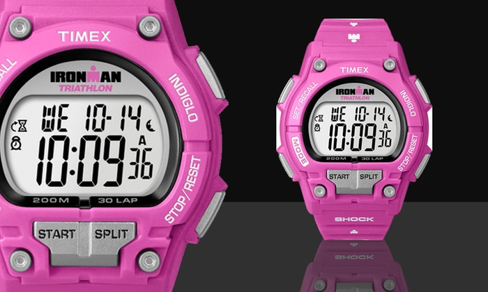 Timex Women's Ironman Watch in Pink/Gray: $23.99 for a Timex Women's Ironman Watch in Pink/Gray ($60 List Price). Free Shipping.