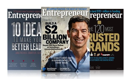 1-Year, 12-Issue Subscription to Entrepreneur Magazine