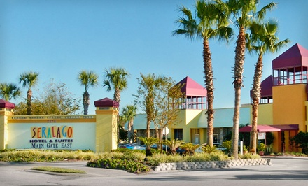 Stay at Seralago Hotel & Suites Main Gate East in Kissimmee, FL, with Dates into May
