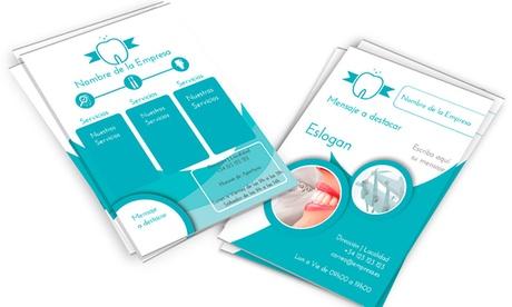 Paga 5€ por un descuento de 20€ con IVA en tarjetas de visita, folletos, pegatinas o calendarios de pared en 360imprimir
