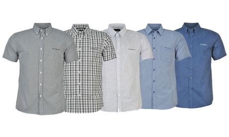 Camisa de manga corta para hombre Pierre Cardin