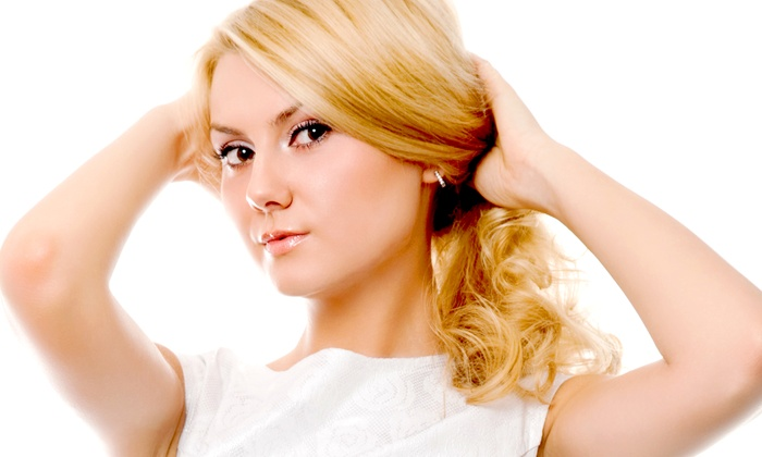 Salon Salon - Fort Collins: Haircut Package with Deep Conditioner, Accent Color, or Partial Highlights at Salon Salon (Up to 57% Off)