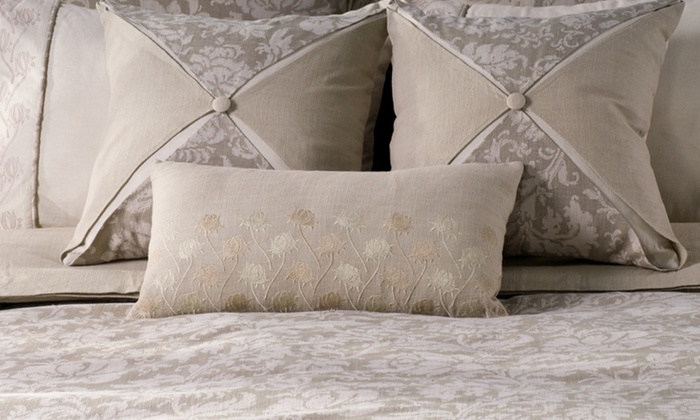 Oversize Embroidered-Duvet Bedding Sets: Oversize Embroidered-Duvet Bedding Sets. Multiple Styles Available. Free Shipping and Returns.