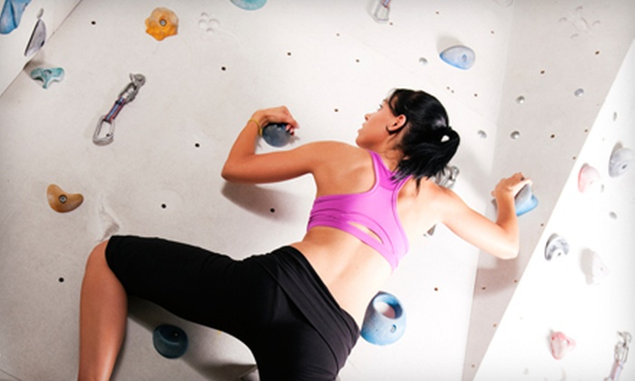 Gainesville Rock Gym - Porters Community: $13 for Indoor Rock Climbing for Two at Gainesville Rock Gym ($27.50 Value)