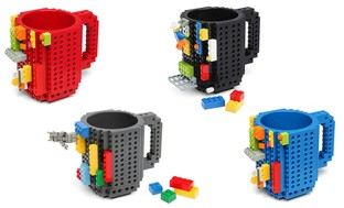 Creative Build-on-Brick Mug (1- or 2-Pack)