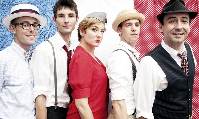 The Hot Sardines - Newberry Opera House: The Hot Sardines at Newberry Opera House on April 23 at 8 p.m. (Up to 49% Off)