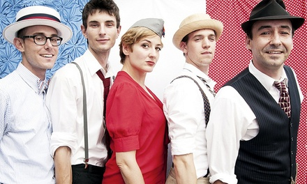 The Hot Sardines at Newberry Opera House on April 23 at 8 p.m. (Up to 49% Off)