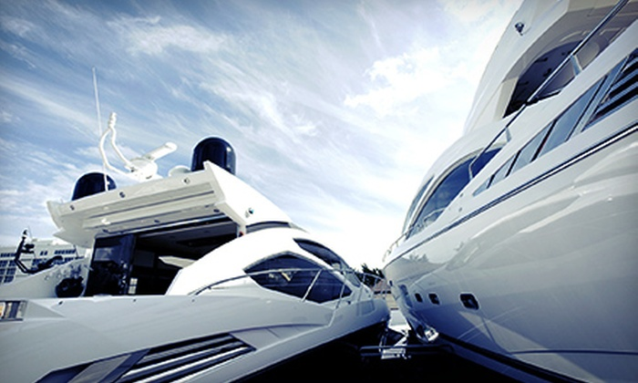 Miami Boat Experts - West Avenue: Gold Boat-Detailing Package from Miami Boat Experts (50% Off). Six Options Available