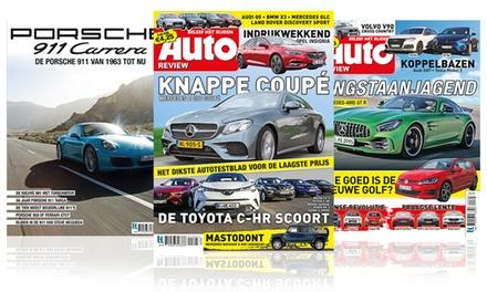 Vaderdagtip: 7, 12 of 28 nummers Auto Review, naar keuze met Porsche special, het abonnement stopt automatisch