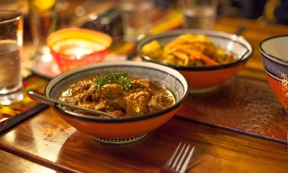 25% Cash Back at Kasbah Moroccan Restaurant