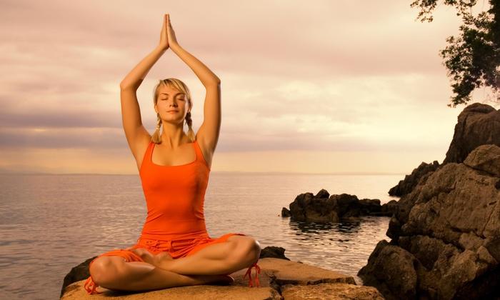 Yoga Om - Henderson Circle: Two 60-Minute Vinyasa Yoga Classes from Yoga Om (64% Off)