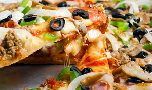 Papa John's: $20 for Two Groupons, Each Good for One Large Pizza with Up to Seven Toppings at Papa John's (Up to $43.64 Value)