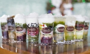 Bambu Desserts & Drinks: $18 for a 5-Visit Punchcard Good for $5 Worth of Dining Per Visit at Bambu Desserts & Drinks ($25 Value)