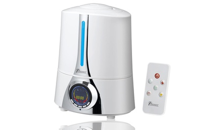 Pursonic HM300 Digital Ultrasonic Cool and Warm Mist Humidifier with Negative Ions