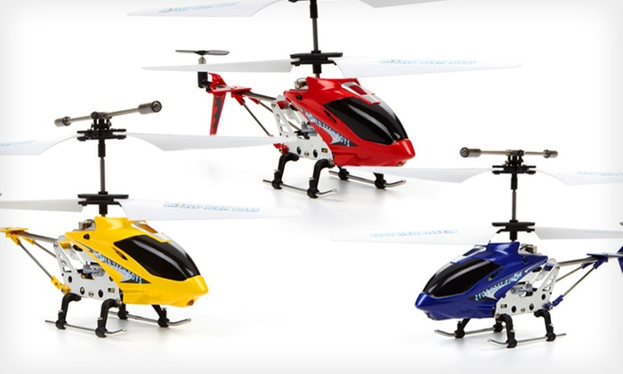 Gyro Phantom Electric Helicopter: $22 for a Gyro Phantom Electric Helicopter in Blue, Red, or Yellow ($85 List Price). Free Shipping and Free Returns.