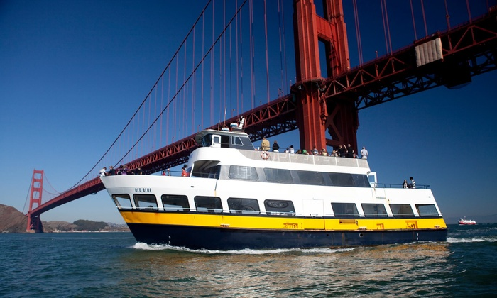 Blue & Gold Fleet - Fisherman's Wharf: $36 for a 90-Minute Escape from the Rock Cruise Around Alcatraz for Two from Blue & Gold Fleet (Up to $72 Value)