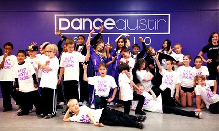 Dance Austin Studio - Wooten: One-Week Kids' Summer Dance Camp or Four Dance Classes at Dance Austin Studio (52% Off)