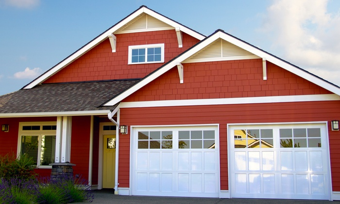 Lake Woodlands Garage Door - Town Center: $38 for $85 Groupon — Lake Woodlands Garage Door