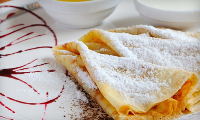 Crepe Town - Fairmount - Art Museum: Crepes and Drinks at Crêpe Town (51% Off). Two Options Available.
