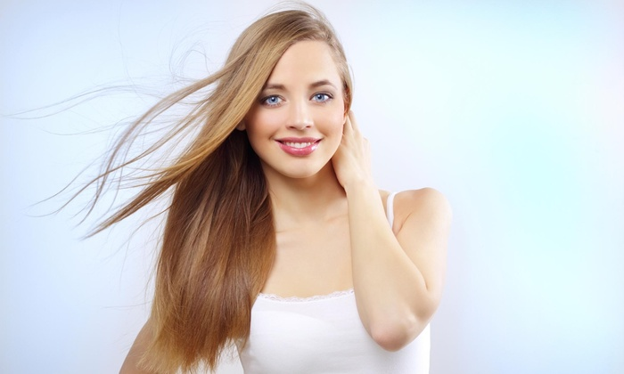 Hair by Kia at VeenUS Beauty Lounge - Lowell: Full Head of Hair Extensions from VeenUS Beauty Lounge (56% Off)