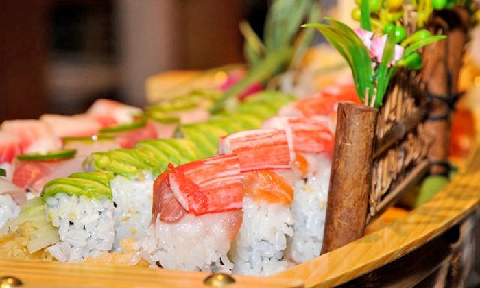 Kumo Japanese Steak House - Sarasota: Japanese Dinner for Two at Kumo Japanese Steakhouse & Sushi (Up to 50% Off). Two Options Available.