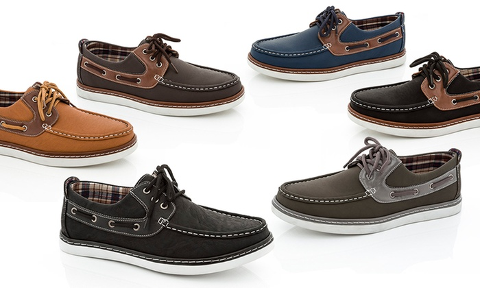Franco Vanucci Men's Boat Shoes | Groupon
