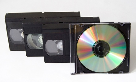 $12 for VHS-to-DVD Conversion for Up to Two Hours of Footage at Video Larry ($25 Value)