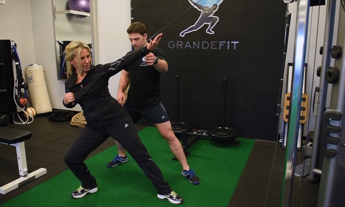 Grande FIT - Palatine: Three or Five Personal-Training Sessions with Initial Assessment at Grande FIT (Up to 80% Off)