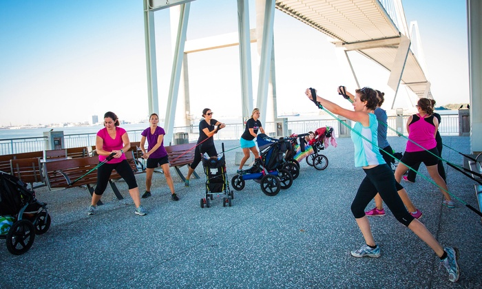 Fit Mommy Charleston - Charleston: 10 or 15 Fitness Classes for Moms at Fit Mommy Charleston (Up to 65% Off)