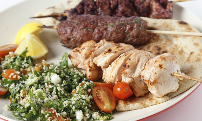Zaatar - Pearl: Up to a 33% Off Middle Eastern All-You-Can-Eat Brunch or Dinner for Two at Zaatar
