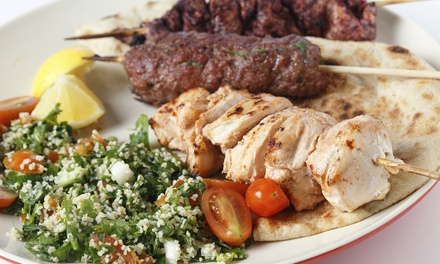 Dining at Athena Greek and Lebanese Grill (Up to 40% Off). Three Options Available.