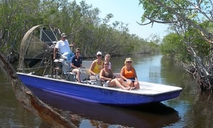 Everglades Excursions: Half-Day Tour for One, Two, or Four from Everglades Excursions (Up to 29% Off)