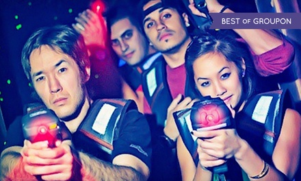 Laser-Tag and Arcade Package for Four or Six at Laser Voyage Cafe (Up to 70% Off). Four Options Available.