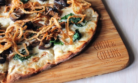 $13 for $20 Worth of Sustainable American Cuisine for Two at Cook & Collins