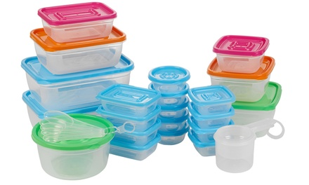 One or Two 52Piece Food Storage Boxes/Measuring Cups Sets
