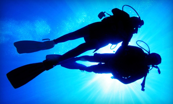 South Shore Divers - North Weymouth: $235 for an Open-Water Scuba-Diving Certification Course from South Shore Divers ($475 Value)