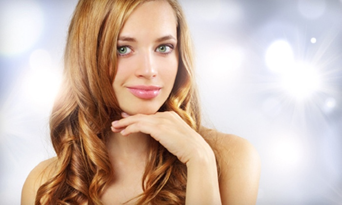 Salon Serenity - Kannapolis:  Haircut with Optional Color or Highlights or Makeup Application and Lesson at Salon Serenity (Up to 61% Off)