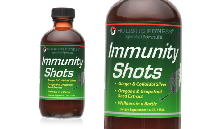 Holistic Fitness Immunity-Shot 2-Pack with e-Book: Holistic Fitness Immunity-Shot 2-Pack with Healthy-Lifestyle e-Book