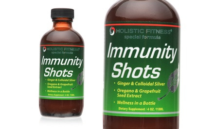 Holistic Fitness Immunity-Shot 2-Pack with Healthy-Lifestyle e-Book